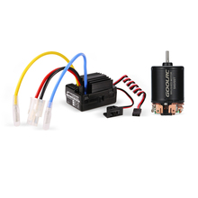 GoolRC 540 55T Brushed Motor with 40A ESC Combo for 1/10 Axial SCX10 RC4WD D90 RC Crawler Car Parts