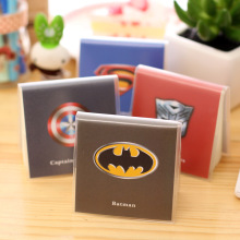 100Sheets Mini Cute Superman Batman Notebook Exercise Book Notepad with PVC cover Office School Supplies Gift For kids