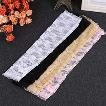 Women Lace Scar Covers Uv Sun Protection Driving Gloves Summer  Arm Sleeves Arm Gloves Tattoo Sleeve Lady Arm Warmer
