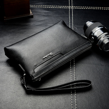 2017 New Male Leather Purse Men's Clutch Wallets Handy Bags Business Carteras Mujer Wallets Men Large Capacity Men's Wallets(China)