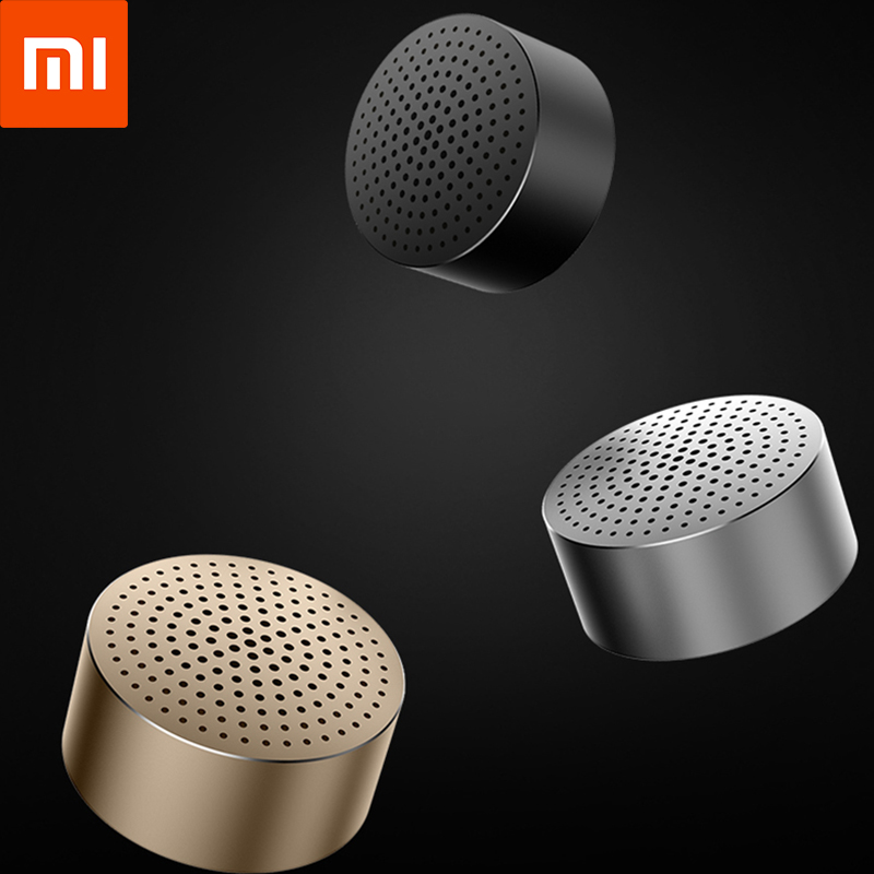 Original Xiaomi Mi Mini Loudspeaker Portable Bluetooth Wireless Metal Steel Speaker Stereo MP3 Music Handsfree Call Speakers