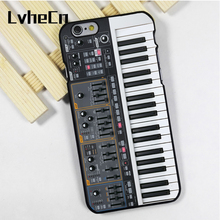 LvheCn phone case cover fit for iPhone 4 4s 5 5s 5c SE 6 6s 7 8 plus X ipod touch 4 5 6 DJ Keyboard Synthesizer(China)