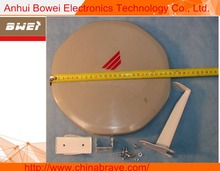 LNB and Antenna together 26cm ku band mini satellite dish antenna with LNB Full HD Vision