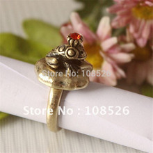 ENZE Free shipping New design restores ancient ways frog ring
