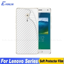 Buy 2pcs 3D Carbon Fiber Back Cover Screen Protector Lenovo ZUK Z2 Pro Plus Edge Sticker Protective Film (Not Tempered Glass) for $1.35 in AliExpress store