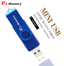 Dr.memory Blue usb flash drive 4G pen drive 32GB USB 8GB Memory Stick 16GB Micro Smart Mobile Disk OTG 64GB metal usb 360 rotate
