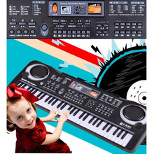 educational JSD 61 Key Music Electronic Keyboard Electric Digital Piano Organ toy piano with microphone Instrumentos Musicais