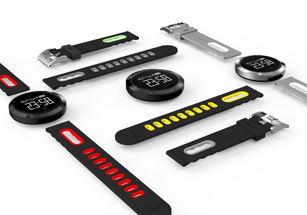 Smart band DM58 Waterproof Smart Wristband Heart rate monitor Blood Pressure Watch Smart bracelet Fitness Tracker PK mi band 2 20