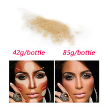 42g/85g New HOT Brand Banana Powder Natural Face Loose Waterproof Brighten Long-lasting Face Foundation Banana Loose Po