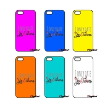 I Only Date YouTubers For iPod Touch iPhone 4 4S 5 5S 5C SE 6 6S 7 Plus Samung Galaxy A3 A5 J3 J5 J7 2016 2017 Phone Case Cover(China)