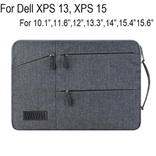 "Creative Design Laptop Sleeve Pouch For Dell XPS 13 XPS 15 Case 10.1""12""13.3""15.4""15.6"" High-capacity Bag Tablet Notebook Cover"