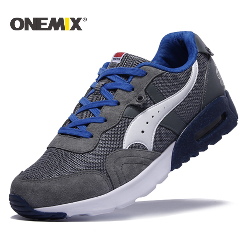 ONEMIX 2017 newest men's running shoes colorful sport mesh breathable sneakers sport shoes for men Free shipping size EUR 39-45(China)