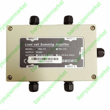 RW-JT 4-Channel Strain Gauge Sum Amplifier, Dual signal output(0~5V&4~20mA)