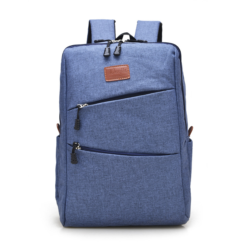 high quality boys/girls school bags college backpack waterproof Solid Color laptop bag men travel bags canvas backpack<br><br>Aliexpress