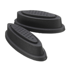 2X Replacement Plastic Luggage Stud Foot Feet Pad Black For Any Bags Kit Fashion(China)