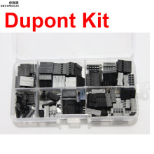 140pcs/Box 7 Kind Dupont Shell Plug Jumper Wire Cable Dupont Housing Pin Kit CGKCH168