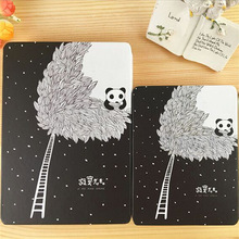 Panda Pattern Cover Notebook Gifts For Students Creative Cover Office Stationery Hard Copybook Diary Book Hot Sale Remember Note