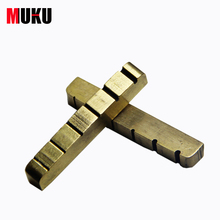 Lp electric guitar copper nut SQ ST electric guitar brass nut metal front string bridge 42*3.5*4.8-3.5MM