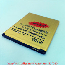 OEM High Quality Gold Business Replacement Battery Bateria 2450mAh For Samsung Galaxy S3 MINI I8190 i8190N / GALAXY Ace 2 I8160