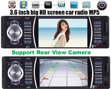 12V Car audio stereo MP5 Player Car Radio 4.0 HD autoradio Bluetooth /Rear view/MP3/MP4/Audio/Video FM Receiver auto radio 1 din(China)