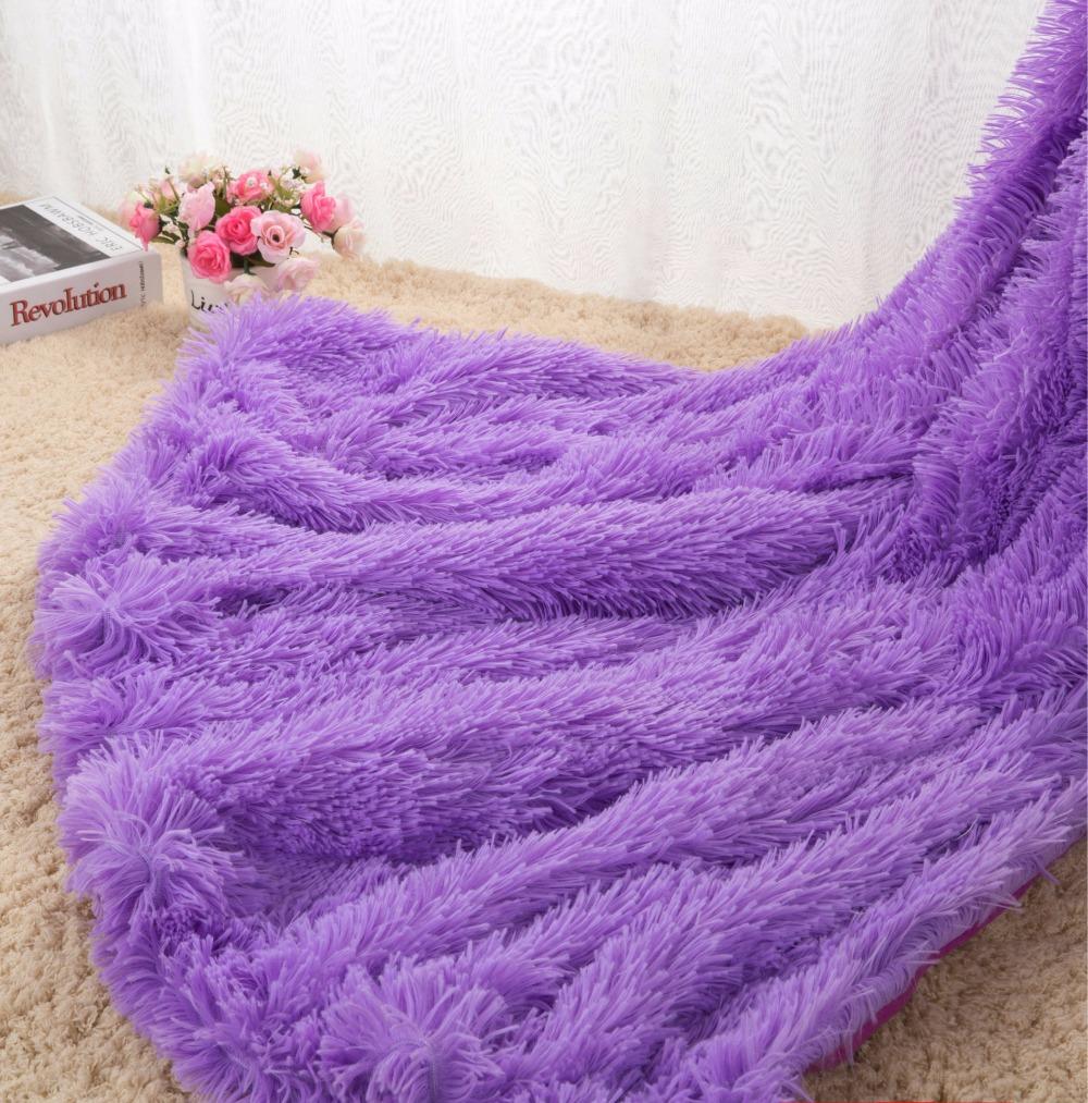 Drop-Shipping-Sofa-Air-Bedding-Throw-Blankets-Mantas-White-Pink-Grey-Fleece-Fluffy-Plush-Bedspread-Couverture (2)