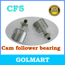 4pcs CF5 KR13 stud type needle cam follower bearing cylindrical type 5mm shaft(China)