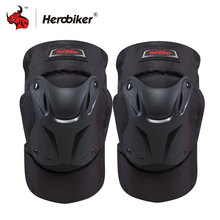 HEROBIKER Motorcycle Knee Pads Motocross Kneepads Bike Bicycle Pads Racing ATV Knee Pads Protective Guards Armor Gear(China)