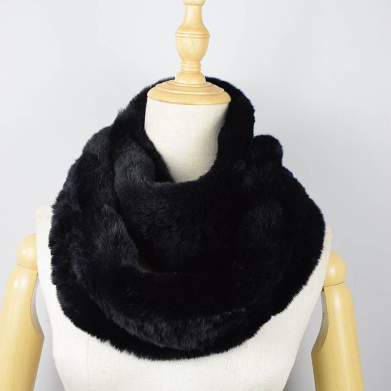 rex rabbit fur scarf 2