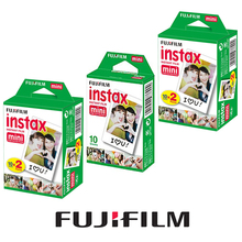 Original Fujifilm Instax Mini White Film 50 Sheets Picture Photo Paper  For Fuji Instant Mini 7s 8 25 50s 70 90 Photo Camera