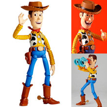 Toy Story Woody Series NO. 010 Sci-Fi Revoltech Special PVC Action Figure Collectible Toy