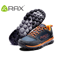 RAX Men Running Shoes Brand Athletic Shoes Breathable Trail Shoes Foldaway Driving Outdoor Waterproof Sneakers