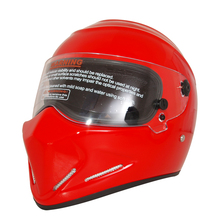 Evomosa Motorcycle Helmet Motorcycle Cool Red Full Face Riding Helmet Motorcycle Full Face Riding Helmet For Men And Women(China)