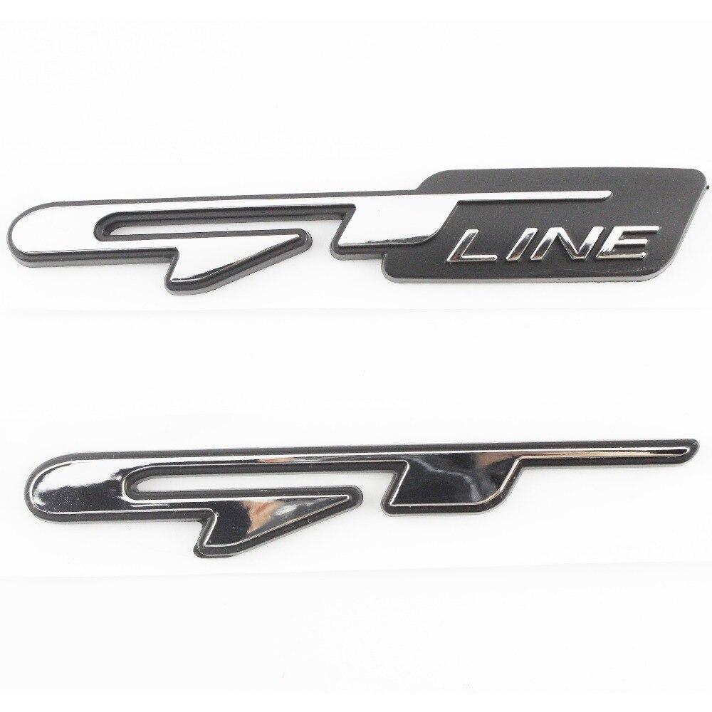 Universal Vehicles GT Logo Chrome Tuning Emblem