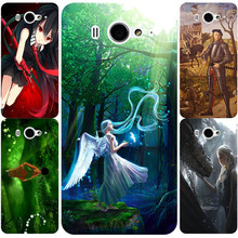 Top Selling Beautiful Girl Angel Cartoon Painting design Hard Plastic Case for Xiaomi 2 M2 2S Mi2 Phone Cover Protective Sleeve(China)