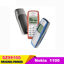 NOKIA 1100 cell phone Unlocked for GSM900/1800MHz  cannot worked at other GSM band, used conditions