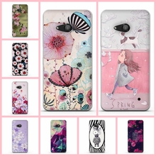 Fashion New Painting Cover Case for Microsoft Nokia Lumia 550 Phone Case Back Soft TPU Case Cover for Microsoft Lumia 550 Shell