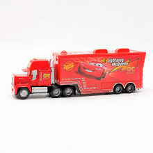 Pixar Cars 2 100% Original Mack Truck No.95 Lightning McQueen 1:55 Scale Diecast Metal Alloy Model Toy For Children'S Gifts(China)