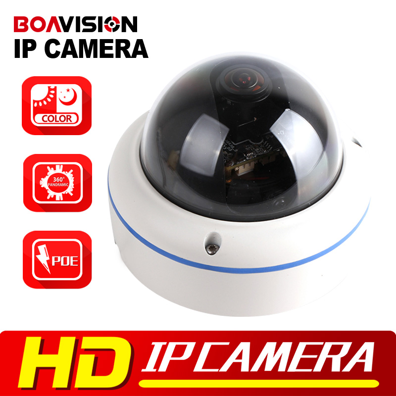 HD 1080P Starlight IP Camera POE 2MP Outdoor Dome Onvif,Low Lux Day/Night Color,360 Degrees Wide Angle P2P(China (Mainland))