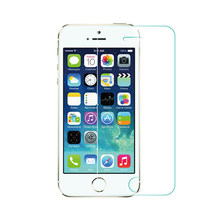 Wangcangli 5pcs for Apple 5 tempered glass film for iphone 5s / 5SE mobile phone foil before the after the protective glass film(China)