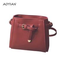 2017 New Arrival Women's Handbag Vintage Knitted Chain Shoulder Bag Fashion Cross-Body PU Leather clutch bag Feb28