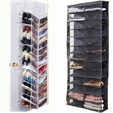 Oxford 26 Pockets Door Hanging Shoes Storage Bag Rack Shelf Waterproof Holder Space Saving Tools Home Room Organizer