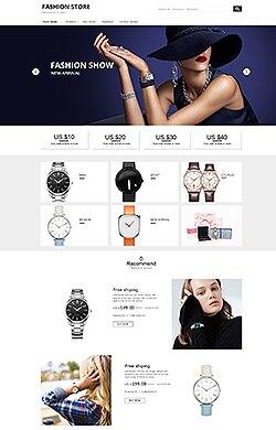 MASS设计★欧美时尚简约 手表眼镜珠宝首饰等通用CSS3特效全屏海报