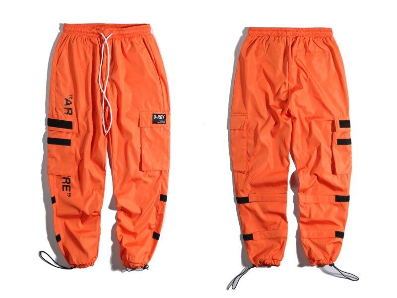 Side Pockets Cargo Harem Pants 1