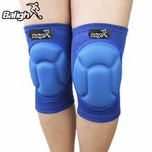 1 pc Elastic Knee Pad Basketball Safety Guard Adjustable Thick Knee Support Brace(China)