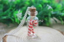 10PCS Christmas Candy Cane necklace - unique and fun Christmas gift