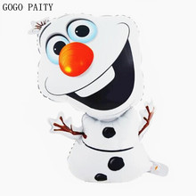 GOGO PAITY Party Super shape Olaf Foil Helium Balloon Birthday Party Wedding Christmas Day Decoration Supplies Kids Gift Toy(China)