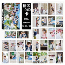 Youpop KPOP BTS Summer Package WINGS Bangtan Boys Album LOMO Cards K-POP Fashion Self Made Paper Photo Card HD Photocard LK425(China)