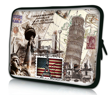"Stamp 10""Netbook Laptop Sleeve Bag Case Cover Pouch For 10.1"" ASUS Eee Pad TF10 Tablet PC for iPad Air 1 Air 2"