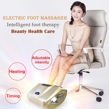 New Electric Foot Massager Machine Intelligent foot therapy Beauty Health Care Shiatsu With heating Airbag scraping kneading