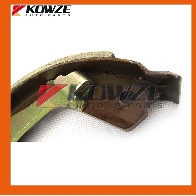 Rear Brake Shoes Set For Mitsubishi Pajero V73 V93 6G72 V75 6G74 V78 4M41 V87 6G75 MN150861 MN186248 (4)